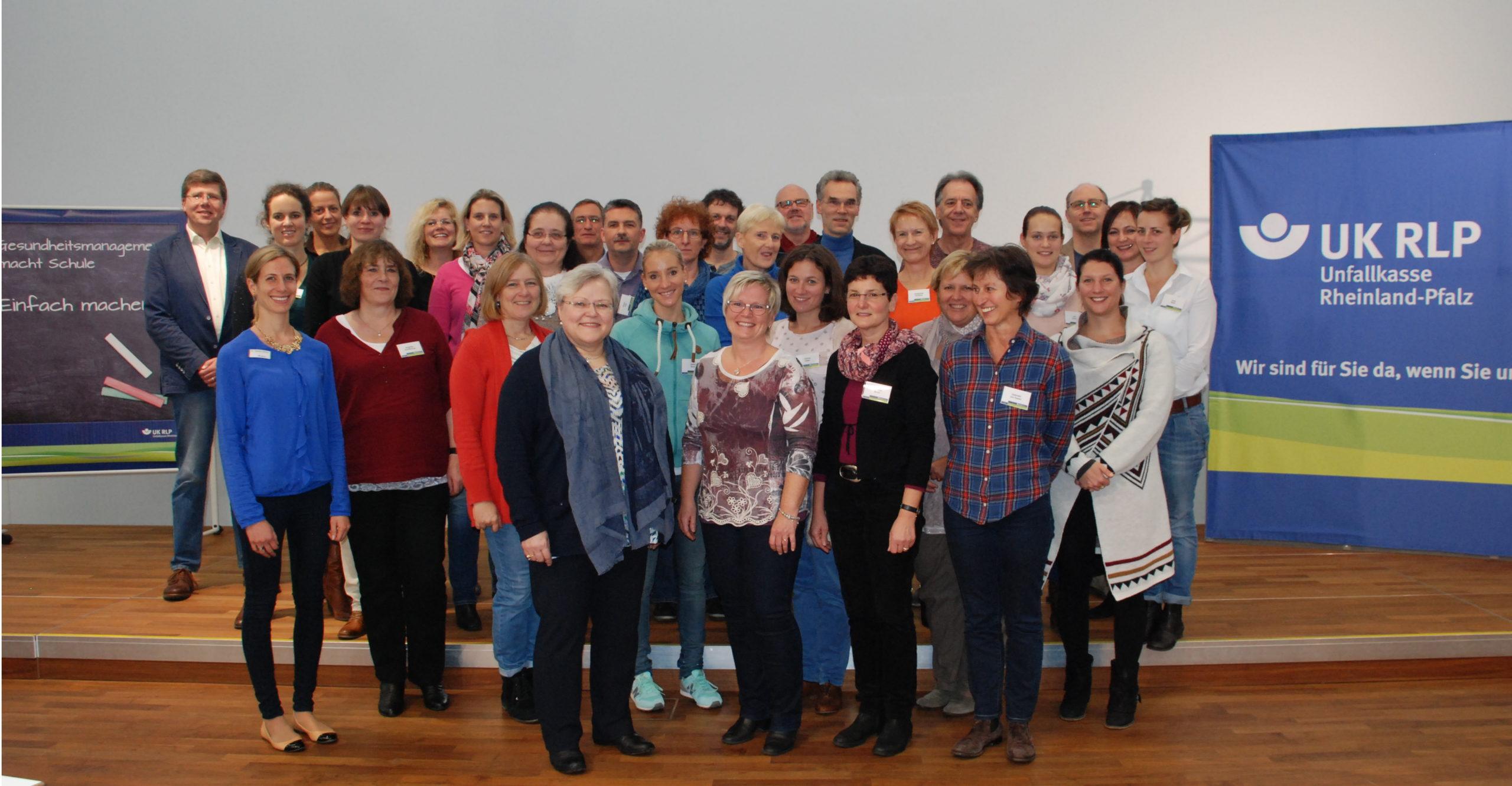 Lehrergesundheit im Fokus - Teilnehmende aus allen Schulen