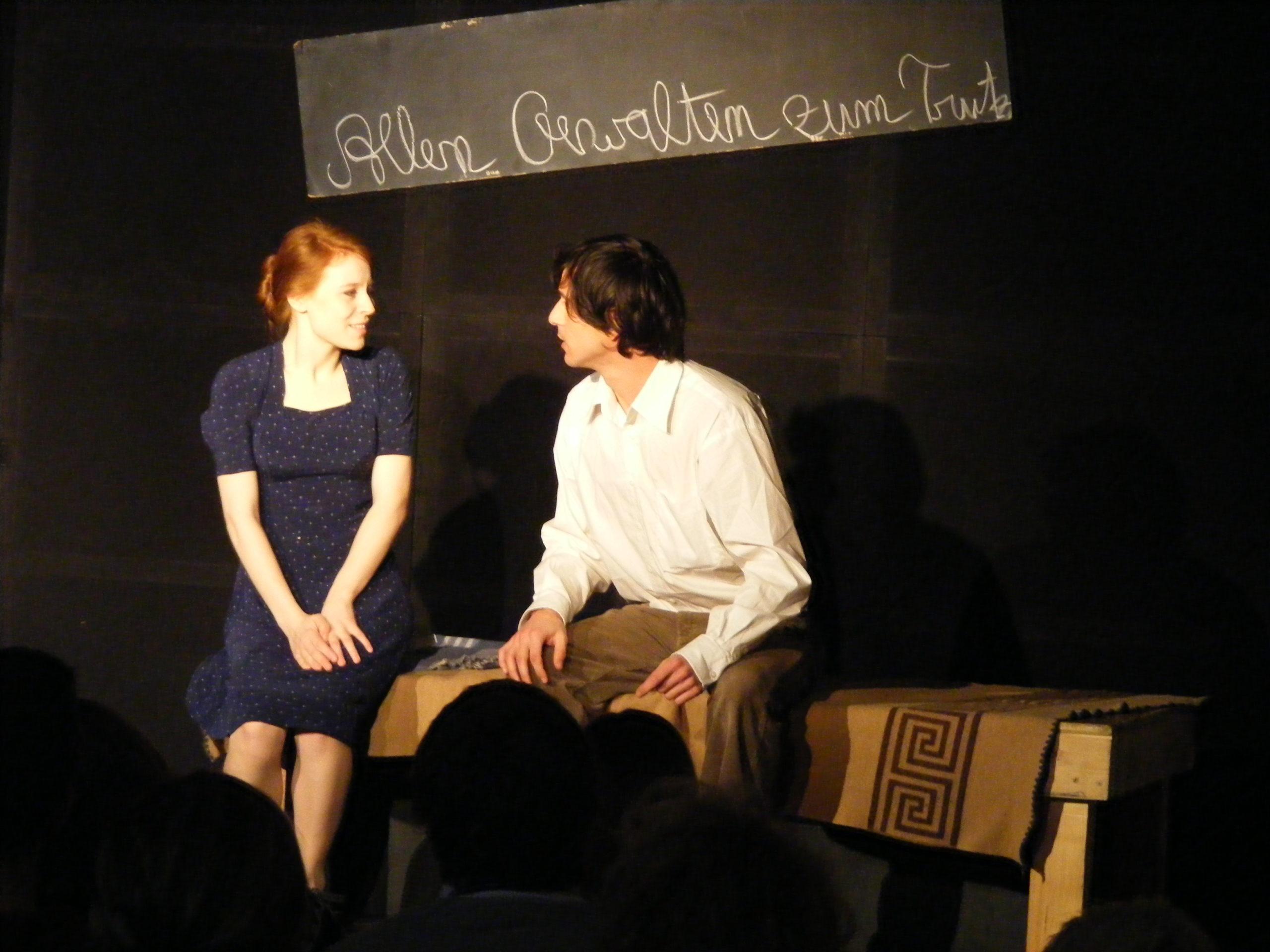 """Theaterstück: """"Die weiße Rose - die letzte Stunde der Geschwister Scholl"""""""