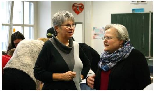 Inklusion in Berufsbildenden Schulen – Besuch der Landtagsabgeordneten Helga Lerch (FDP)