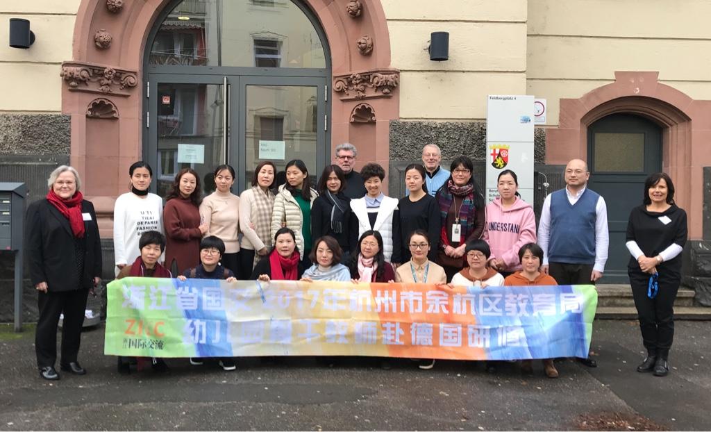 Interkultureller Austausch – Kita-Leiterinnen aus Hangzhou, China, zu Gast an der Sophie-Scholl-Schule