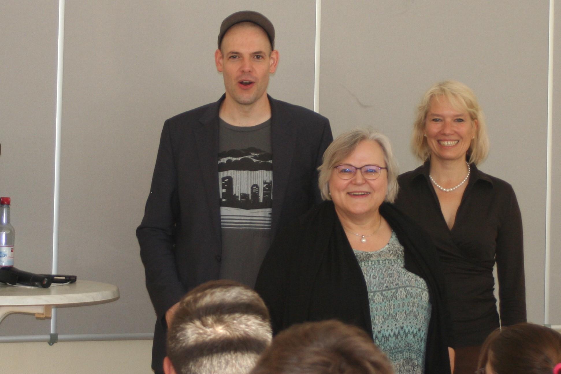 Poetry Slam Pionier zu Besuch in der Sophie Scholl Schule