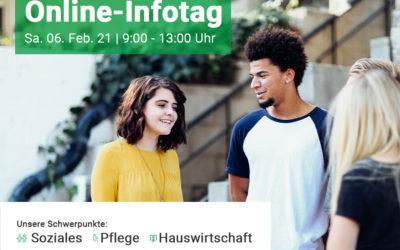 Online-Infotag | Sa. 06. Feb. 21 | 9:00 – 13:00 Uhr