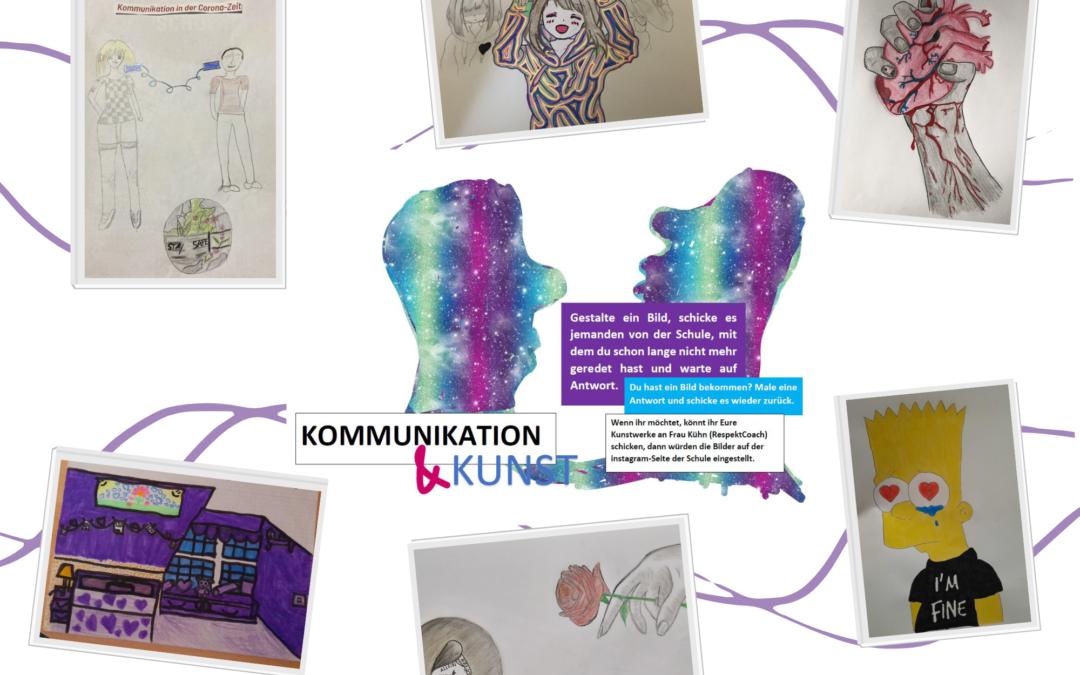 Kommunikation und Kunst – ein Projekt während des Fernunterrichts