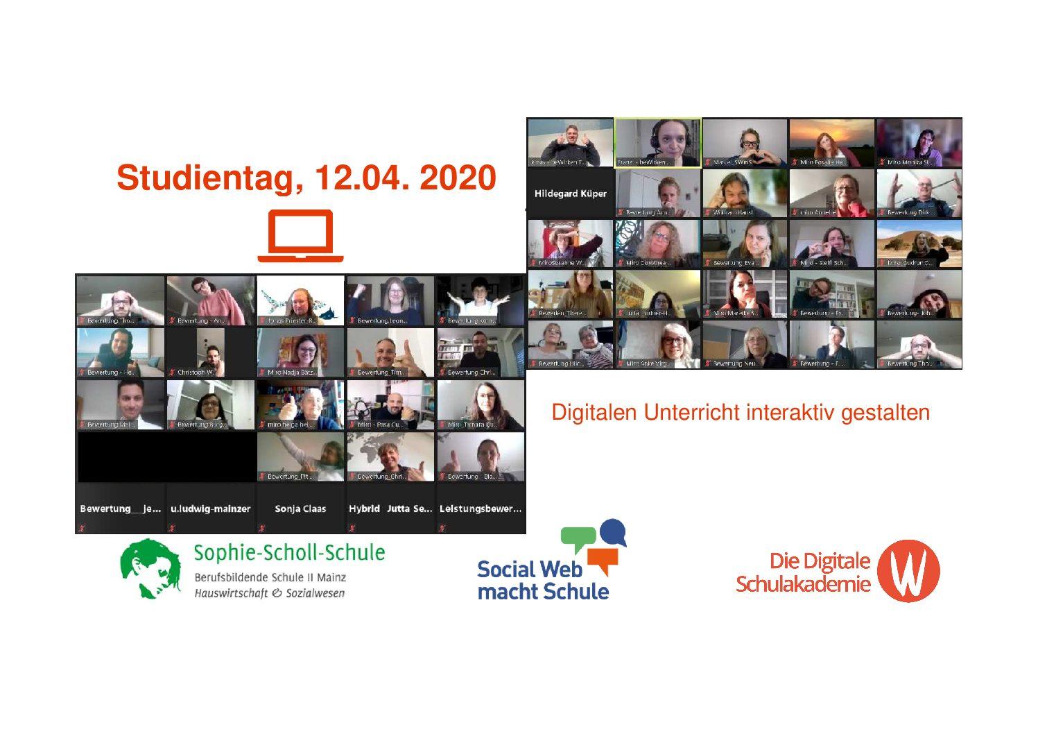 Digitales Lernen interaktiv gestalten – Ein erfolgreicher Studientag an unserer Schule!